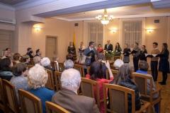 Choras AIDIJA bei vadovas ir dirigentas Romualdas Gražinis