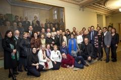 M. K. Čiurlionio draugijos nariai Signatarų namuose